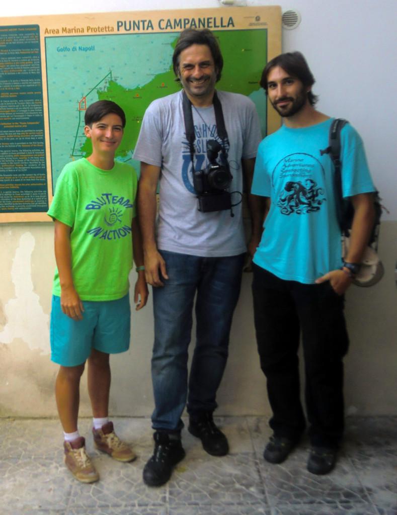con periodista