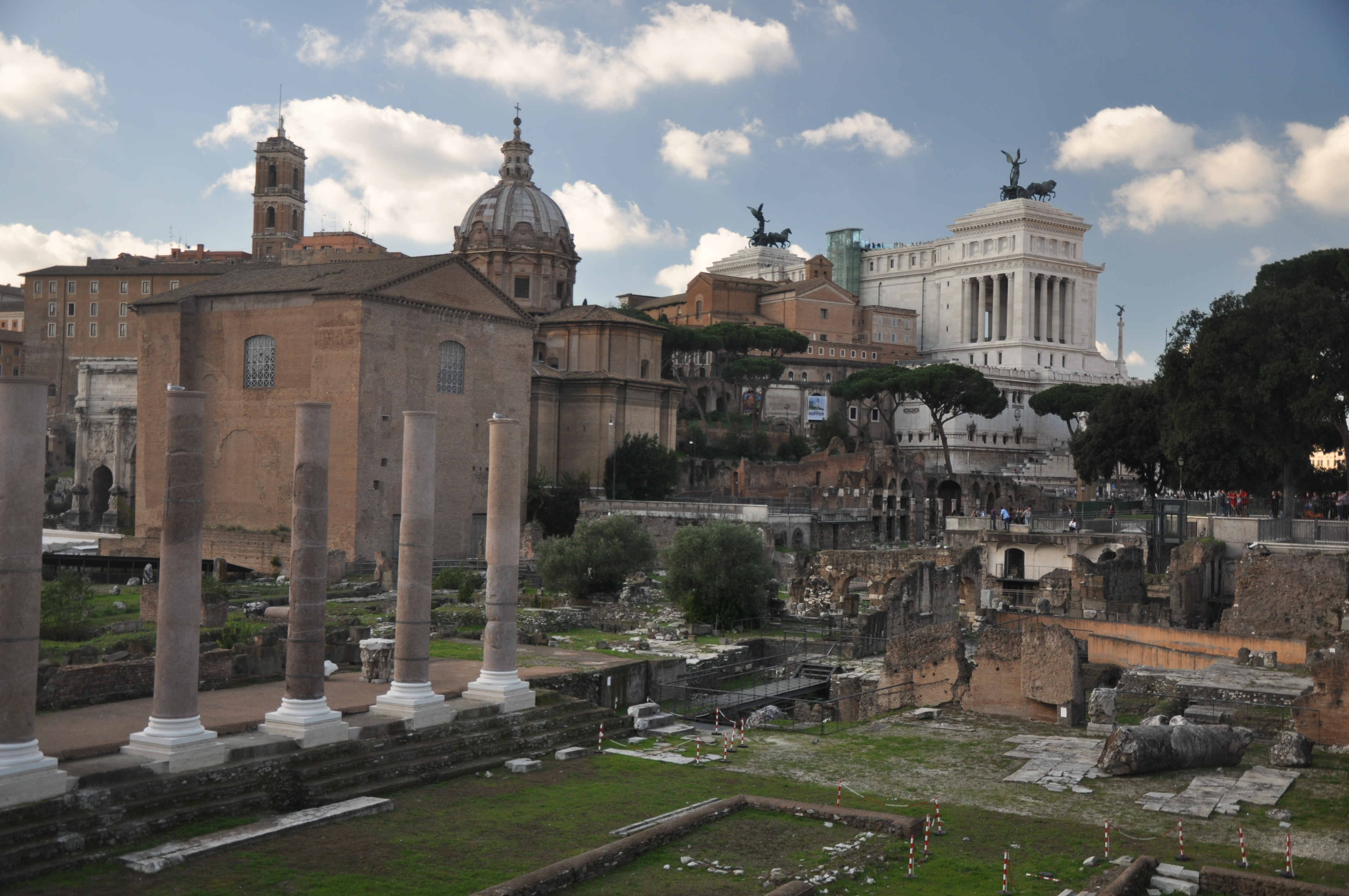my trip to rome This $650 trip to rome was such a trip my husband and i would have paid $1300 total for us to both to fly to rome and back, stay in a hotel for 4 nights (6 days) while in rome breakfast would also have been included.